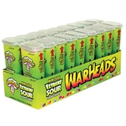 Warheads Juniors Extreme Sour, 1.75 oz., 18 Containers/Order