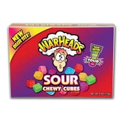 Warheads Cubes Theater Box, 4 oz., 12 Boxes/Order