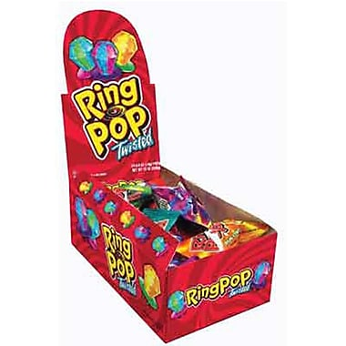 Twisted Ring Pop, .5 oz., 24 Ring Pops/Order