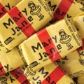 Necco Mary Janes (wrapped), 30 lb. Bag