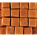 Mayfair Vanilla Milk Caramels Clear Wrapped in a 5 lb. bag