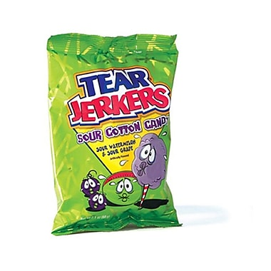 Charms Tear Jerkers Cotton Candy bag, 2.1 oz., 24 Bags/Order