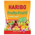 Haribo Fruity Frutti, 4 oz. Peg Bag, 12 Packs/Order