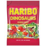 Haribo Dinosaurs Bag, 5.29 oz./12 Packs/Order