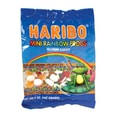 Haribo Mini Rainbow Frogs, 5 oz. Peg Bag/12 Packs/Order