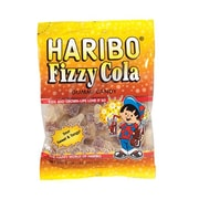 Haribo Happy Fizzy Cola, 5 oz. Peg Bag/12 Packs/Order