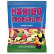 Haribo Tropifrutti Gummi Candy, 5 oz. Peg Bag/12 Packs/Order