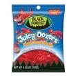 Black Forest Juicy Oozers Cherry Gummy Sharks 4.25 oz. Peg Bag, 12 Packs/Order