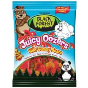 Black Forest Juicy Oozers Wild Bears, 4.25 oz. Peg Bag, 12 Packs/Order
