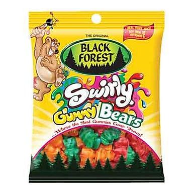 Black Forest Swirly Gummy Bears, 4.5 oz. Peg Bag, 12 Packs/Order