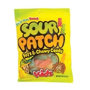 Cadbury Adams Sour Patch Kids, 5 oz. Peg Bag, 12 Packs/Order