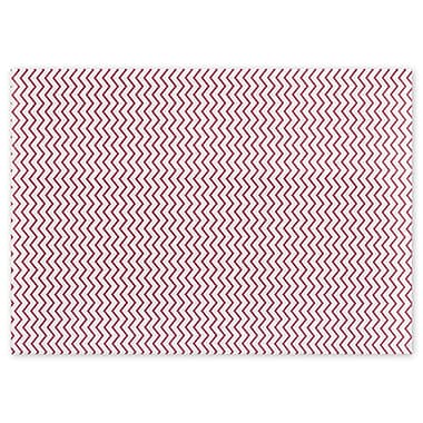 Chevron Red Tissue Paper, 20