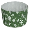 Snowflake Pleated Baking Cups, 2 3/5in. x 2in.