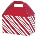Peppermint Gable Box, Red, 8 1/2in. x 5in. x 5 1/2in.