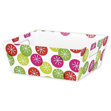 Large Festive Dots Market Tray, 12in. x 9 1/2in.
