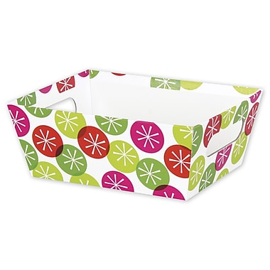 Festive Dots Small Market Tray, 9in. x 7in. x 3 1/2in.