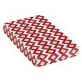 Holiday Chevron Apparel Box, White/Red/Green, 15in. x 9 1/2in. x 2in.