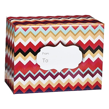 Medium Chevron Sunset Mailing Box, 12in. x 16in.