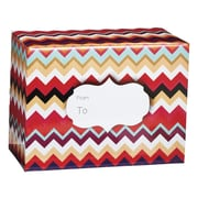 Medium Chevron Sunset Mailing Box, 12 x 16