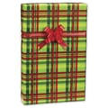 Mad About Plaid Gift Wrap, Red/Green, 30in. x 417'
