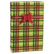 """Mad About Plaid Gift Wrap, Red/Green, 30"""" x 417'"""