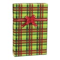 Mad About Plaid Gift Wrap, Red/Green, 30in. x 100'