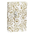 Allegro Gift Wrap, Gold/White, 30in. x 100'
