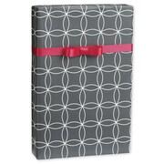 "Kinetic Gift Wrap, Grey/White, 30"" x 417'"
