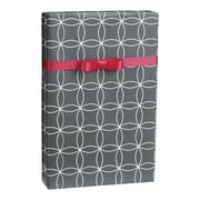 "Kinetic Gift Wrap, Grey/White, 30"" x 100'"