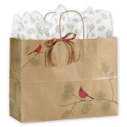 """Cardinal Greetings Shoppers, Red/Brown, 16"""" x 6"""""""