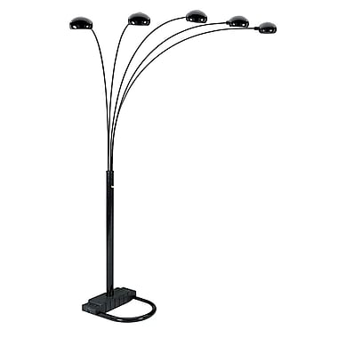 Ore International® 40 W 5 Arms Arch Floor Lamps