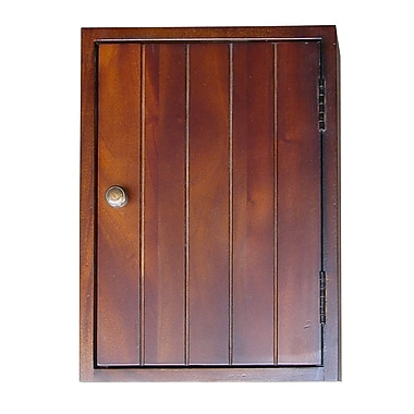 Ore International® 14in. Key Holder Rack, Mahogany
