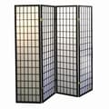 Ore International® 70in. x 60in. 4 Panel Room Dividers