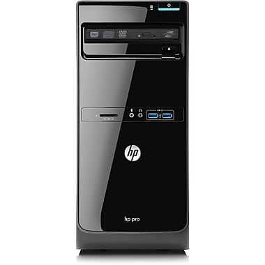 HP® Pro 3500 Micro Tower Desktop Computer, Intel® Dual-Core i3-3240 3.40GHz Windows 8 Pro