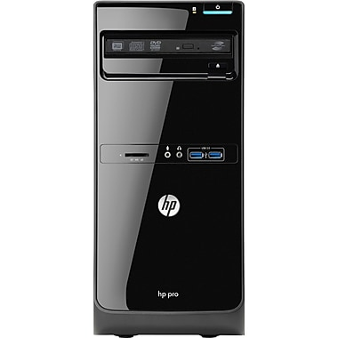 HP® Pro 3500 Micro Tower Desktop Computer, Intel® Dual-Core i3-3240 3.40GHz 2GB