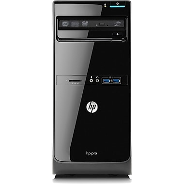 HP® Pro 3500 Micro Tower Desktop Computer, Intel® Pentium Dual-Core G2030 3GHz