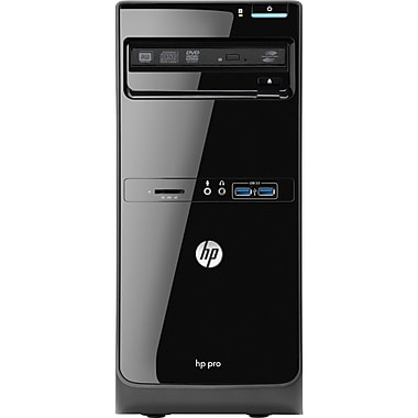 HP® Pro 3500 Micro Tower Desktop Computer, Intel® Pentium Dual-Core G2030 3.40GHz