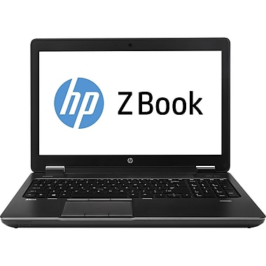 HP ZBook 15 Mobile Workstation - 15.6in. - Core i7 4800MQ - Windows 7 Pro 64-bit/8Pro downgrade - 8GB RAM - 128GB SSD + 750 GB HDD