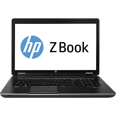 HP ZBook 17 Mobile Workstation - 17.3in. - Core i7 4700MQ - Windows 7 Pro 64-bit/8Pro downgrade - 8GB RAM - 128GB SSD + 500 GB HDD