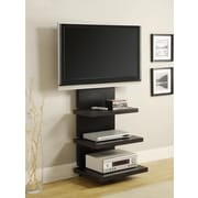 "Altra Furniture AltraMount Home Theater TV Stand for TVs Up to 60"", Black Finish, BLACK"