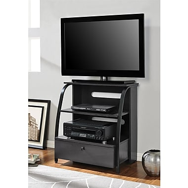 Altra Furniture Essex Highboy TV Stand, ESPRESSO