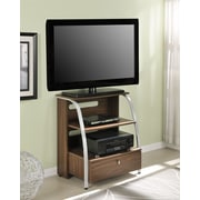 Altra Furniture Essex Highboy TV Stand, WALNUT