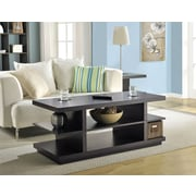 Altra Furniture Hollow Core Coffee Table/ TV Stand, ESPRESSO