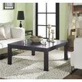 Altra Furniture Parsons Large Coffee Table, ESPRESSO