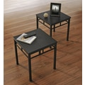Altra Furniture Wexford End Table Bundle- 2 pack, ESPRESSO