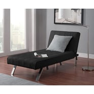 DHP Emily Chaise Lounger -  Black
