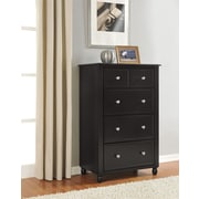 Altra Furniture Winslow 5 Drawer Storage Chest , ESPRESSO