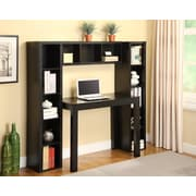 Altra Furniture Parsons Storage Towers and Bridge with Desk Bundle, BLACK