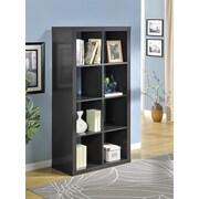 Altra Furniture 8 Cube Room Divider, ESPRESSO