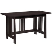 Altra Furniture Modern Mission Desk , MEDIUM OAK - IMPORT
